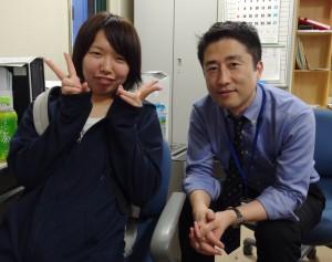 林さんと品川先生