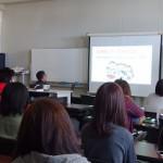 富田先生による、 給食管理実習校外のお話