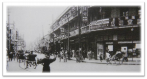 図2 日本人街の一角。虹口呉淞路(1932年頃)